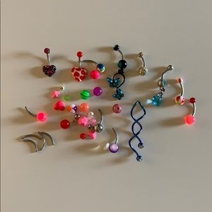 Jewelry - Belly Button Ring Lot